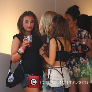 Lauren Goodger and Wireless Festival