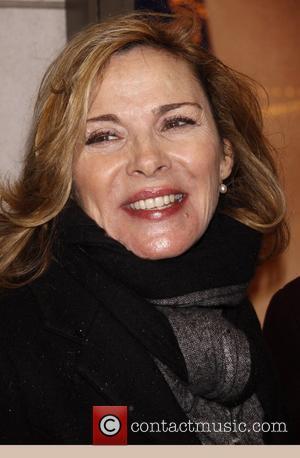 Kim Cattrall  Opening night of Manhattan Theatre Club's 'Wit' at the Samuel J. Friedman Theatre - Arrivals.  New...