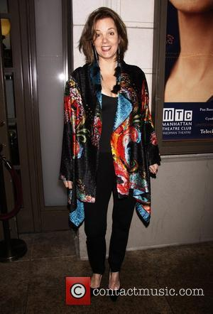Margaret Colin  Opening night of Manhattan Theatre Club's 'Wit' at the Samuel J. Friedman Theatre - Arrivals.  New...