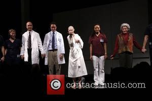 Cynthia Nixon and Cast  Opening night of Manhattan Theatre Club's 'Wit' at the Samuel J. Friedman Theatre - Curtain...