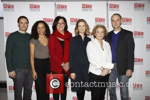 Lynne Meadow, Cynthia Nixon and cast  Photo call for the MTC production of 'Wit' held at the MTC rehearsal...