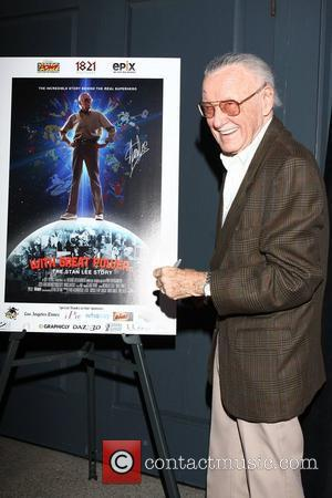 Stan Lee The Premiere of ''With Great Power: The Stan Lee Story' at the iPic Theaters Pasadena, California - 19.04.12