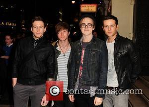 Mcfly, Danny Jones, Tom Fletcher and London Palladium