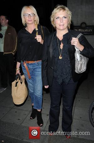 Jennifer Saunders leaving The Wolseley Restaurant,  London, England - 31.05.12