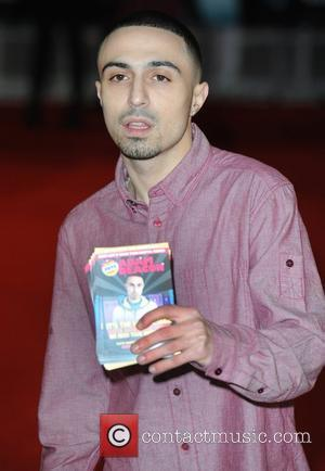 Adam Deacon at the premiere of The woman in black at Royal Festival Hall, London, England- 24.01.12