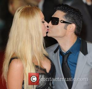 Corey Feldman and Chemmy Alcott at the premiere of The woman in black at Royal Festival Hall, London, England- 24.01.12