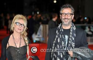 David Baddiel and Morwenna Banks The Woman in Black - World Premiere held at the Royal Festival Hall, Arrivals. London,...