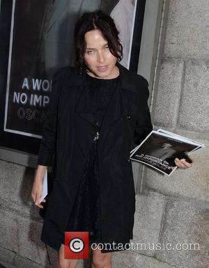 Andrea Corr Opening night of the Oscar Wilde play 'A Woman of No Importance', The Gate Theatre - Arrivals Dublin,...