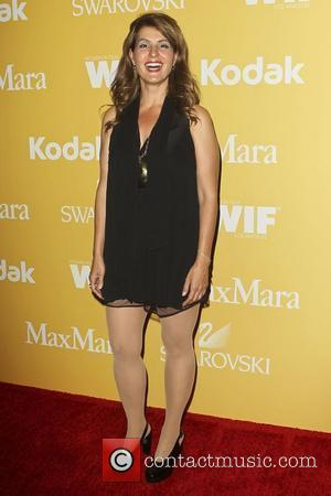 Nia Vardalos Women in Film 2012 Crystal + Lucy Awards, held at The Beverly Hilton Hotel - Arrivals Beverly Hills,...