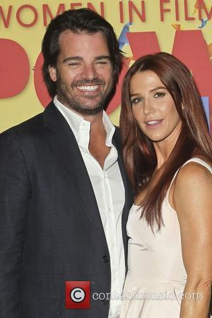Adam Kaufman and Poppy Montgomery Women in Film 2012 Crystal + Lucy Awards, held at The Beverly Hilton Hotel -...