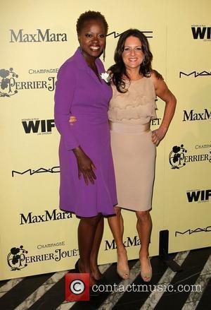 Viola Davis and Cathy Schulman