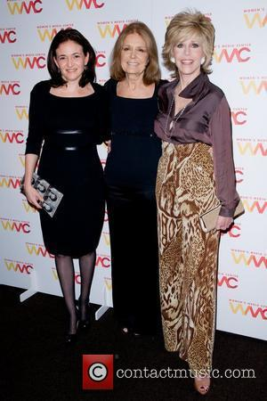 Gloria Steinem and Jane Fonda
