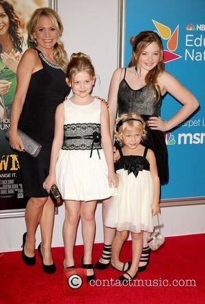 Barbara Alyn Woods, Emily Alyn Lind, Sisters, Natalie Alyn Lind, Alyvia Alyn Lind,  at the New York premiere of...