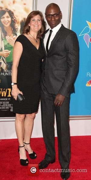 Lance Reddick,  at the New York premiere of 'Won't Back Down' at the Ziegfeld Theater. New York City, USA...