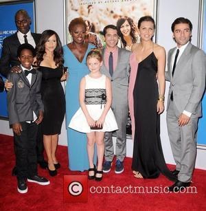 Cast members Rosie Perez, Lance Reddick, Dante Brown, director Daniel Barnz, Emily Alyn Lind, Viola Davis, Maggie Gyllenhaal and Oscar...