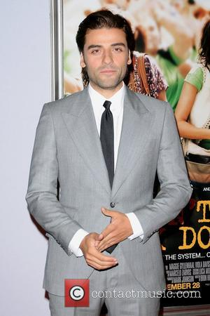 Oscar Isaac,  at the New York premiere of 'Won't Back Down' at the Ziegfeld Theater. New York City, USA...