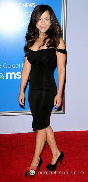 Rosie Perez,  at the New York premiere of 'Won't Back Down' at the Ziegfeld Theater. New York City, USA...
