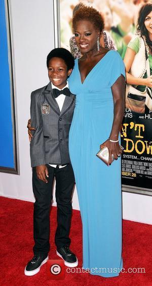 Viola Davis and Dante Brown