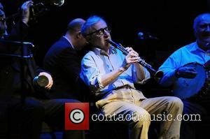 Woody Allen and his New Orleans Jazz Band perform at the Fillmore Miami Beach. Miami Beach, Florida - 20.12.11