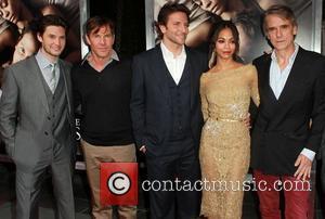 Ben Barnes, Bradley Cooper, Dennis Quaid, Jeremy Irons and Zoe Saldana