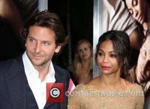 Bradley Cooper And Zoe Saldana Reunite For Movie Premiere
