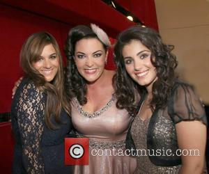 Rumer, Caro Emerald and Katie Melua  World Hunger Day Concert - photocall held at the Royal Albert Hall. London,...
