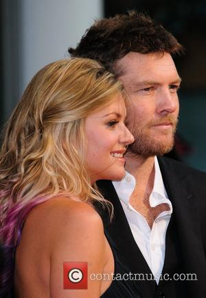 Sam Worthington and partner Crystal 'Wrath Of The Titans' UK film premiere held at the BFI Imax - Arrivals London,...