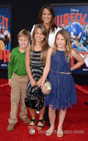 Eva LaRue and family The Los Angeles Premiere of 'Wreck-It Ralph' - Arrivals Los Angeles, California - 29.10.12
