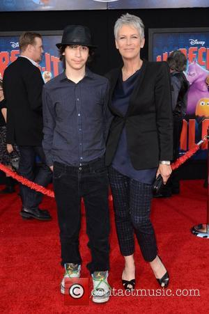 Jamie Lee Curtis and Thomas Guest The Los Angeles Premiere of 'Wreck-It Ralph' - Arrivals Los Angeles, California - 29.10.12