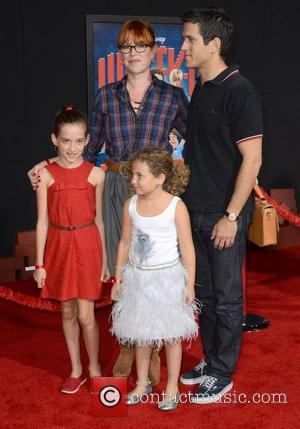 Molly Ringwald, Panio Gianopoulos and family The Los Angeles Premiere of 'Wreck-It Ralph' - Arrivals Los Angeles, California - 29.10.12