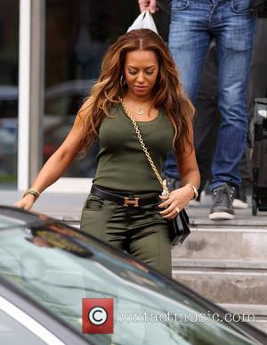 Melanie Brown, aka Mel B The X Factor judges leave their hotel for the X Factor auditions in Manchester Manchester,...
