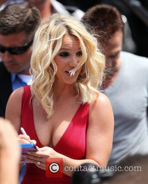 Britney Spears The USA X Factor judges arrive for the auditions in Providence Providence, Rhode Island - 27.06.12
