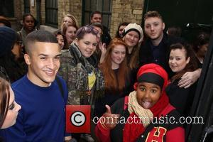 Jahmene Douglas, James Arthur and The X Factor