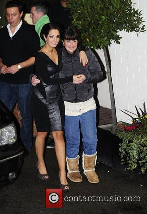 Tulisa Contostavlos and her mother Anne Contostavlos leaving X Factor Fountain Sudios. London, England - 04.12.11,