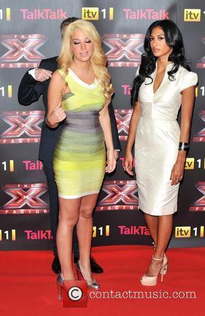 Louis Walsh, Nicole Scherzinger, Tulisa Contostavlos and The X Factor