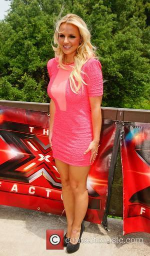 Britney Spears Walks Off 'X Factor' Set, Again!
