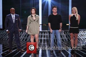 L, A. Reid, Demi Lovato, Simon Cowell, Britney Spears and The X Factor