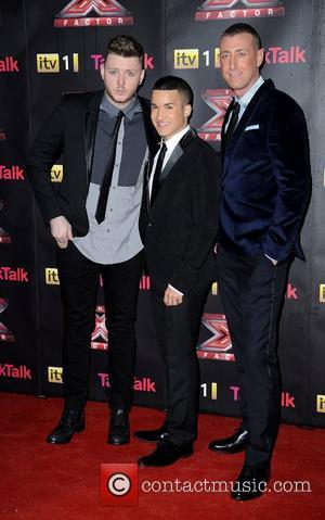 James Arthur, Jermaine Douglas, Christopher Maloney and X Factor