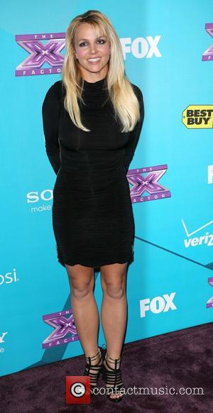 Britney Spears X Factor party