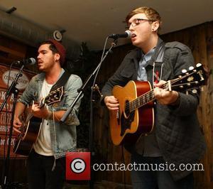Adam Burridge, James Arthur 'X Factor' Wildcard Adam Burridge plays a small intimate gig at the Corner Shop Bar in...