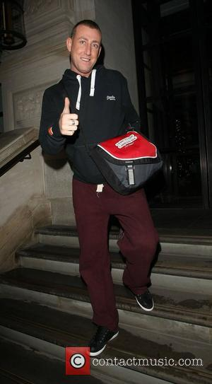 X Factor contestant Christopher Maloney returns to his hotel. London, England - 02.12.12
