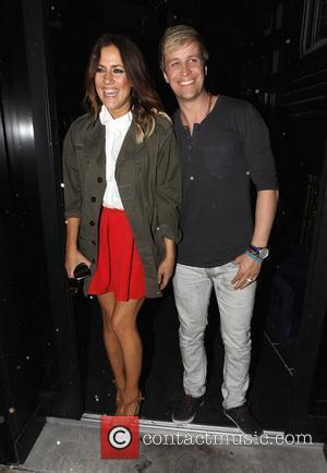 Caroline Flack and Kian Egan