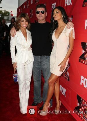 Paula Abdul, Nicole Scherzinger, Simon Cowell and The X Factor
