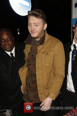 The X Factor finalists leave the X Factor secret gig in Soho  Featuring: James Arthur