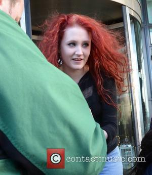 Janet Devlin  Stars of the X Factor Live Tour seen leaving their hotel and heading to The O2 Arena...