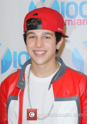 Austin Mahone  Y100's Jingle Ball 2012 at the BB&T Center - Arrivals Miami, Florida - 08.12.12