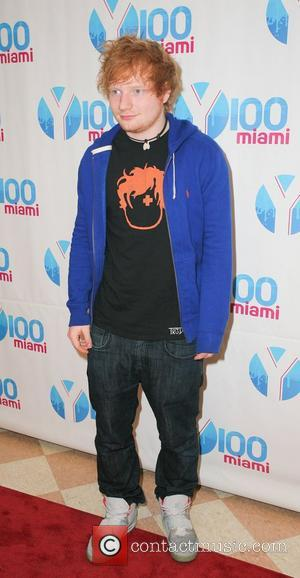 Ed Sheeran  Y100's Jingle Ball 2012 at the BB&T Center - Arrivals Miami, Florida - 08.12.12