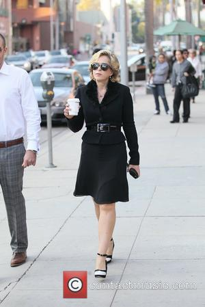 Yeardley Smith out and about in Beverly Hills Los Angeles, California - 31.01.12
