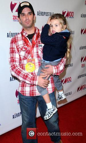 Donald Trump Jr. with his daughter Kai Madison Trump Z100's 2011 Jingle Ball presented by Aeropostale - Arrivals New York...