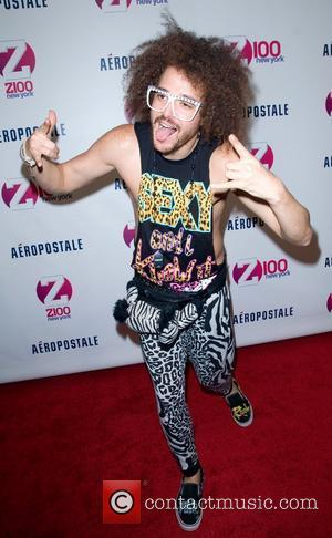 Redfoo of LMFAO Z100's 2011 Jingle Ball presented by Aeropostale - Arrivals New York City, USA - 09.12.11